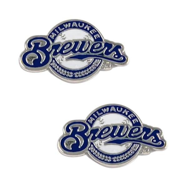 Milwaukee Brewers Post Stud Earrings