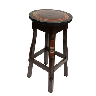 Hand-carved Fante Bar Stool/ Pedestal (Ghana)