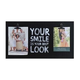 Melannco 'Your Smile' Sentiment 2-opening Clip Frame