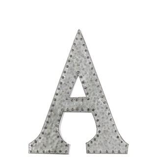 Zinc Metal Letter 'A'