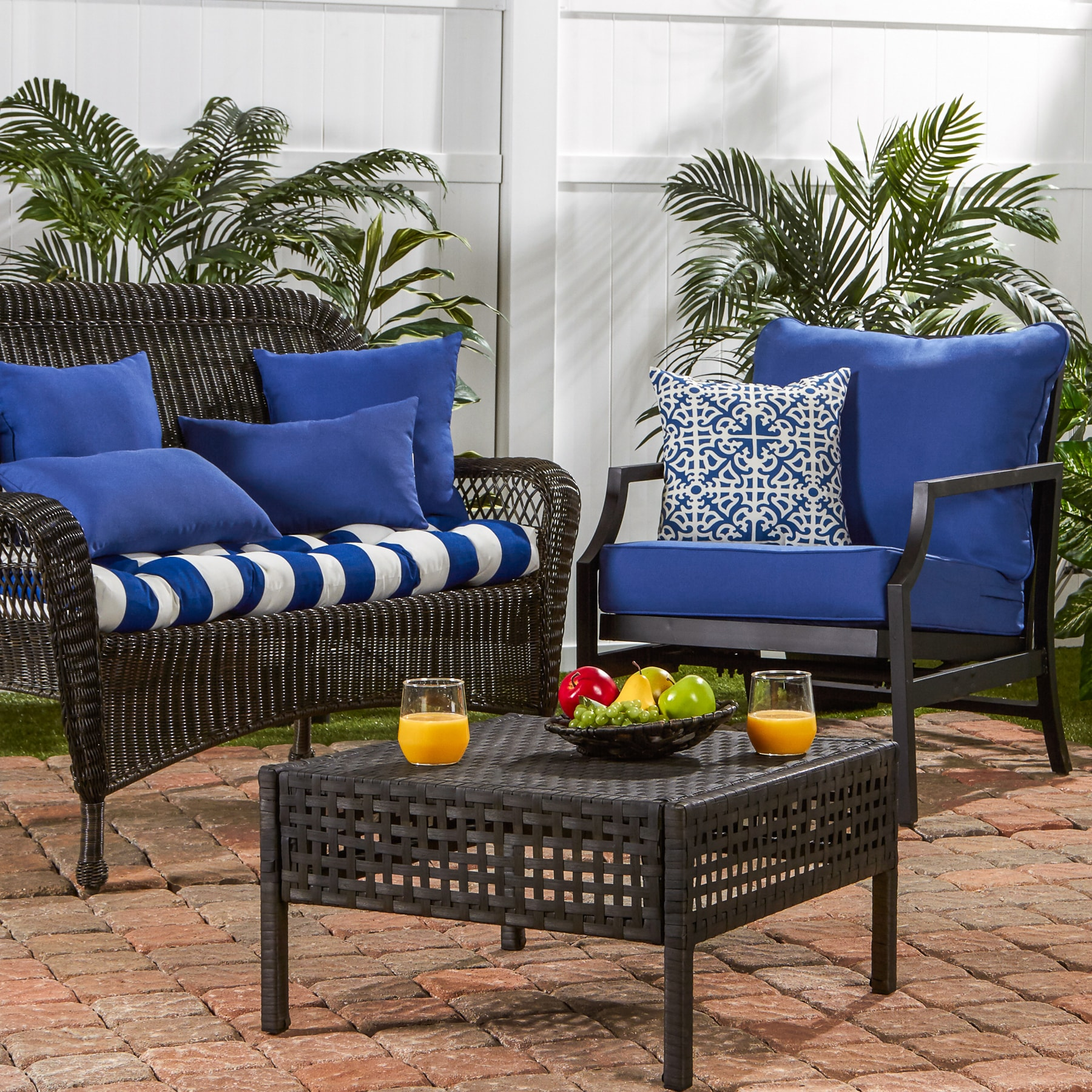 com black amazon outsunny person porch dp bench garden canopy swing outdoor