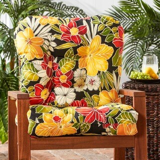 Havenside Home San Elijo Outdoor Seat/ Back Chair Cushion