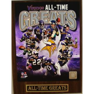 Minnesota Vikings All Time Greats Plaque