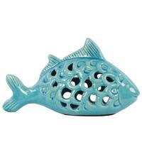 Ceramic Turquoise Fish