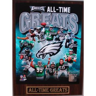 Philadelphia Eagles All Time Greats Plaque