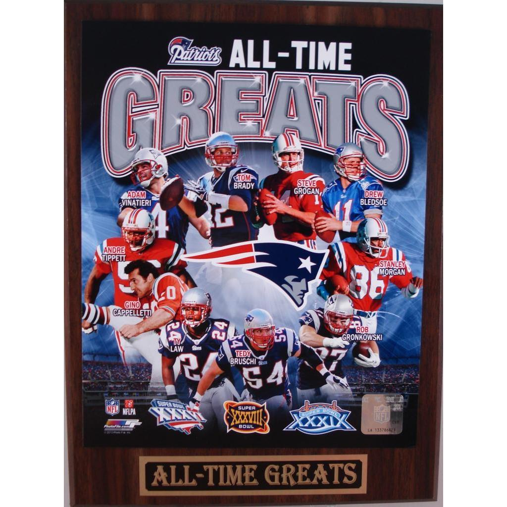 NFL Pittsburgh Steelers All-Time Greats Plaque
