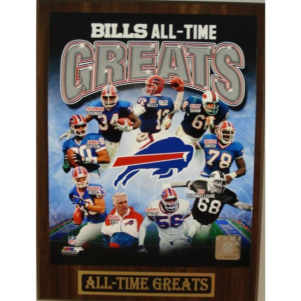 Buffalo Bills All Time Greats Plaque