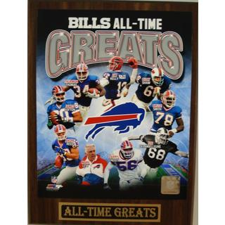 Buffalo Bills All Time Greats Plaque