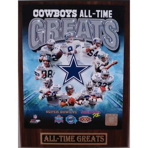 Dallas Cowboys All Time Greats Plaque