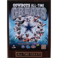 Dallas Cowboys All Time Greats Plaque