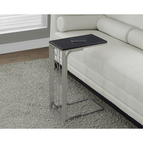 Metal Tray Accent Table