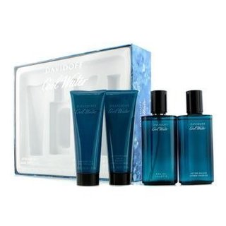 Davidoff Cool Water Men's 4-piece Fragrance Set