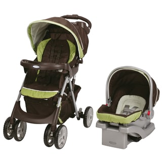 Graco Comfy Cruiser Click Connect Travel System in Go Green