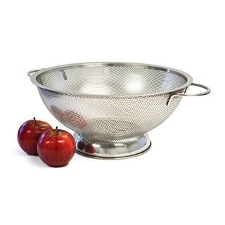 Culina 5-quart Finely Perforated Stainless Steel Colander