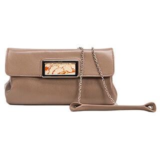 Wa Obi Ruby Clutch Bag