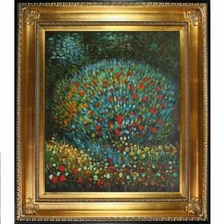 Gustav Klimt Apple Tree I Hand-painted Framed Canvas Art|https://ak1.ostkcdn.com/images/products/9694586/P16871955.jpg?impolicy=medium