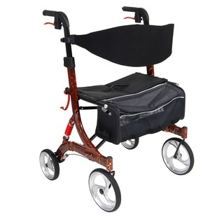Drive Medical Nitro Euro-style Brown Heavy Duty Walker Rollator