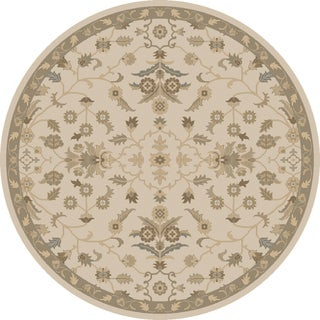 Hand-tufted Karla Traditional Wool Rug (9'9 Round)