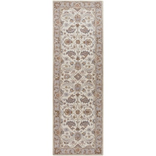Hand-tufted Tiana Traditional Wool Rug (3' x 12')