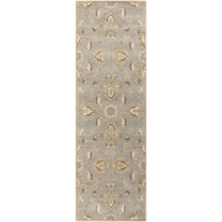 Hand-tufted Ty Traditional Wool Rug (2'6 x 8')