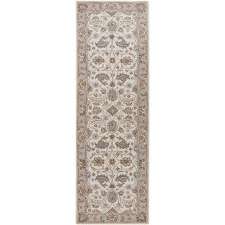 Hand-tufted Tiana Traditional Wool Rug (2'6 x 8')