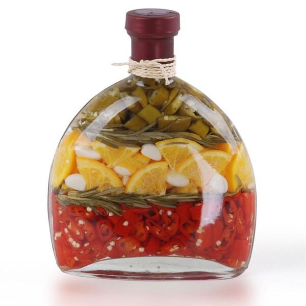 Shop Chalice 8 Inch Decorative Infused Vinegar Bottle