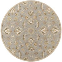 Hand-tufted Ty Traditional Wool Area Rug (6' Round)