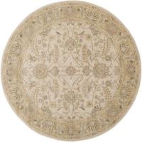 Hand-tufted Tiana Traditional Wool Area Rug - 6'