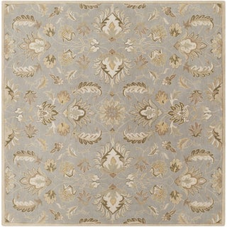 Hand-tufted Ty Traditional Wool Rug (4' Square)