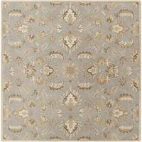 Hand-tufted Ty Traditional Wool Area Rug (4' Square)