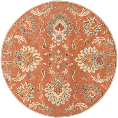 Handmade Tami Transitional Wool Area Rug