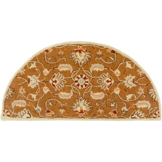 Hand-tufted Ty Traditional Wool Rug (2' x 4' Hearth)