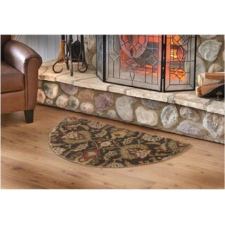 Hand-tufted Tami Traditional Wool Rug (2' x 4' Hearth)