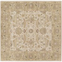 Hand-tufted Tiana Traditional Wool Area Rug - 8' x 8'