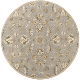 Hand-tufted Ty Traditional Wool Rug (8' Round)