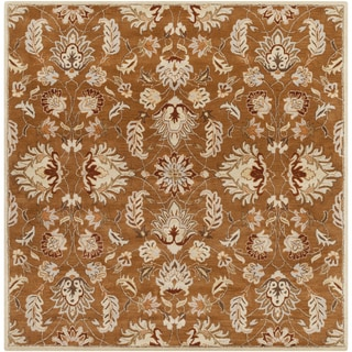 Hand-tufted Ty Traditional Wool Rug (6' Square)