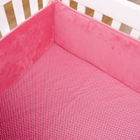 Simplicity Hot Pink Crib Sheet