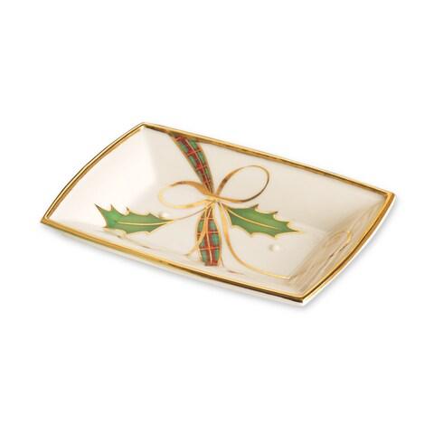 Lenox Holiday Nouveau Goldtone Soap Holder