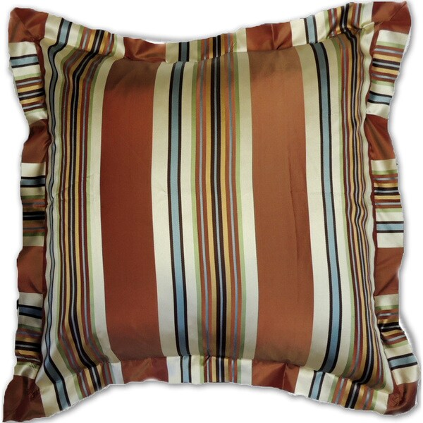 Stripe Silk Euro Sham