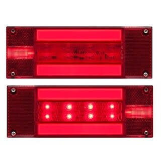 Optronics LED Low Profile 28/ 34-diode Glolight Trailer Light Kit