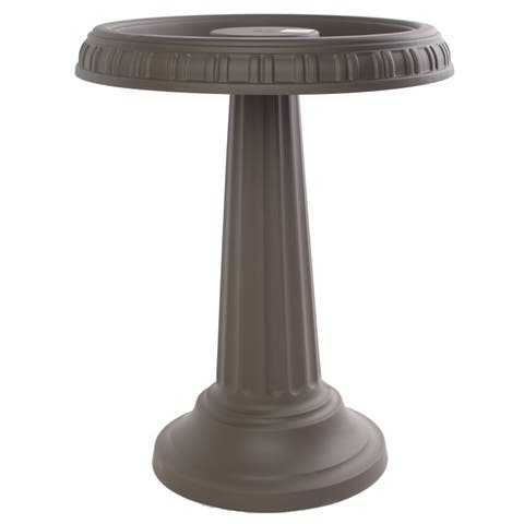 Bloem Grecian Peppercorn Bird Bath