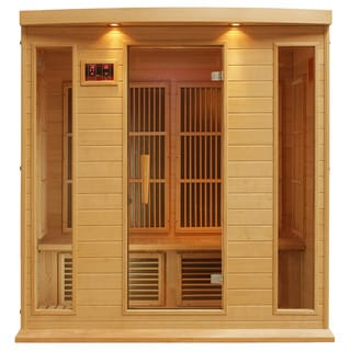 Maxxus 4-person Carbon Infrared Wood Sauna
