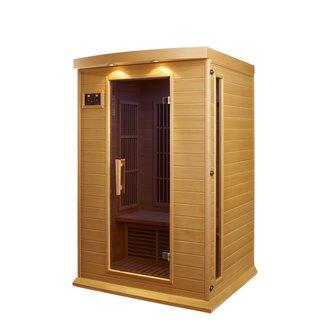 Maxxus 2-person Carbon Wood Infrared Sauna