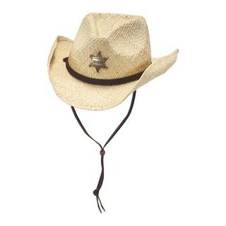 Boys' Bailey Natural Western Sheriff Hat