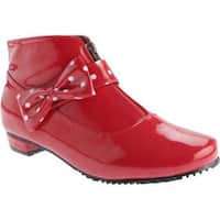 Women's Beacon Shoes Rainbow Red Polyurethane