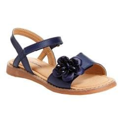 Girls' Hanna Andersson Justina II Sandal Navy Leather