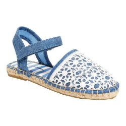 Girls' Hanna Andersson Paulina II Closed Toe Sandal Chambray Canvas