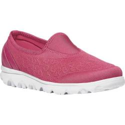 Women's Propet TravelActiv Slip-On Watermelon Red Nylon Mesh/Polyurethane