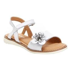 Girls' Hanna Andersson Justina II Sandal White Leather