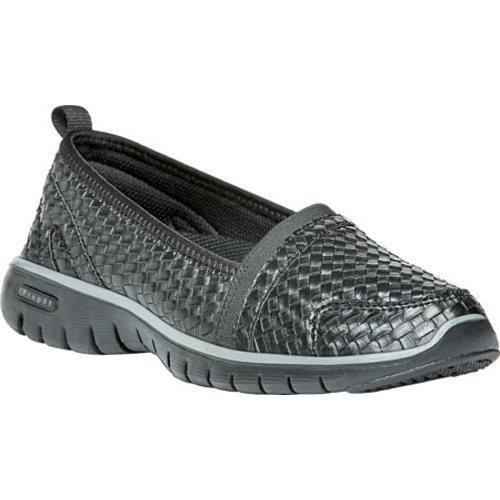 Shop Women s Propet TravelLite Slip-On Woven All Black Woven Polyurethane -  On Sale - Free Shipping On Orders Over  45 - Overstock.com - 11021365 89140df09d